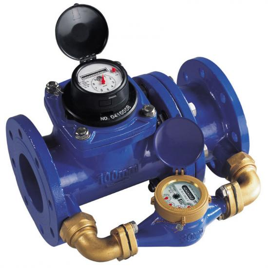 Compound water meter