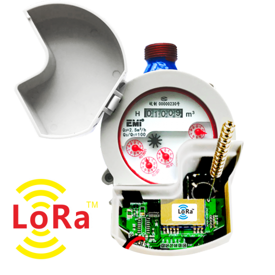 wireless smart water meter